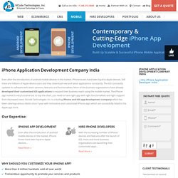 iPhone Application Development Company India