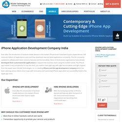iPhone Application Development Company India