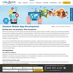 Xamarin Mobile Application Development Firm In Florida