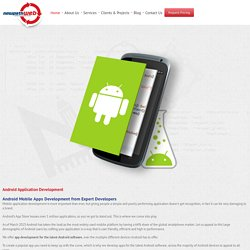Android App Development Services in Melbourne, Australia