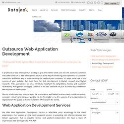 Web Application Development Company India - Datainox