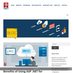 Benefits of Using ASP.NET for Web Application Development