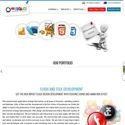 Flash & Flex Application Development India