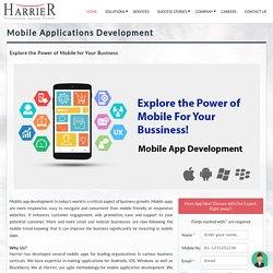 Mobile Application Development Company: Windows, iphone, Android App Development