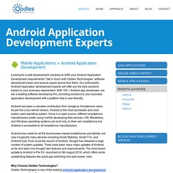 Android Application Development Experts