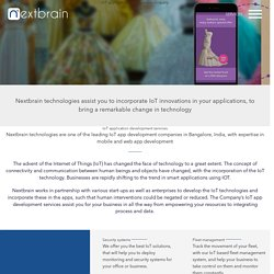 IoT Application Development Company in Chicago