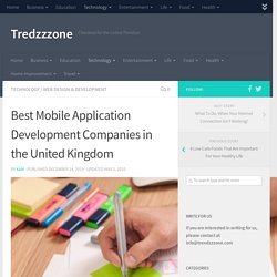 Best Mobile Application Development Companies in the United Kingdom