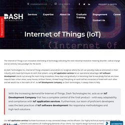 Internet of Things (IoT) - Website & Mobile Application Development