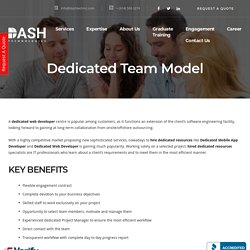 Dedicated Team Model - Website & Mobile Application Development