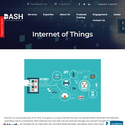 Internet of Things - Website & Mobile Application Development