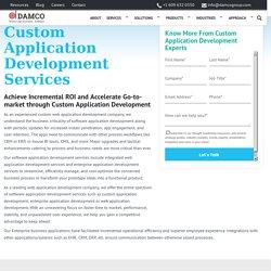 Application Development Services - Custom Application Development