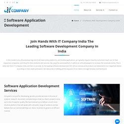 Software Application Development Company - IT Company India