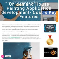 House Painting Application development- Cost & Key Features