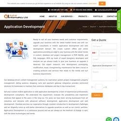 Web, Mobile Application Development Company UK