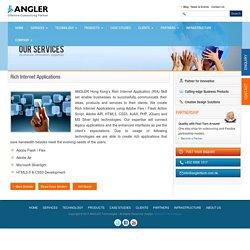 Rich Internet Application development services in Hong Kong - ANGLER