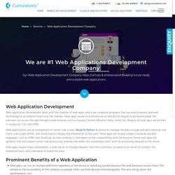 #1 Web Application Development Company in Bangalore, India