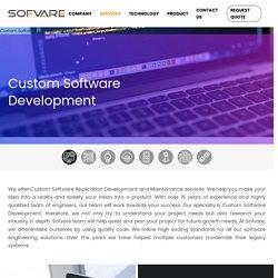 Custom Software Application Development Services