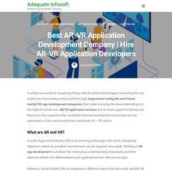 Hire AR-VR Application Developers - Adequate Infosoft