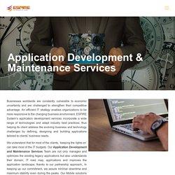 Application Development and Maintenance Services - Espire