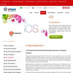 FREE Workshop - IPhone / iOS Application Development - STEPS KOCHI
