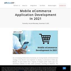 Mobile eCommerce Application Development In 2021
