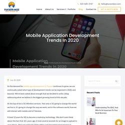 Mobile Application Development Trends in 2020