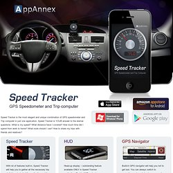 Mobile Application and Game Development Company » Speed Tracker. GPS Speedometer and Trip computer
