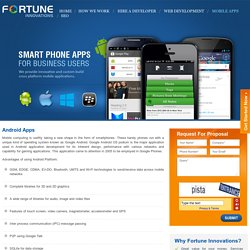 Android Application Development Sydney