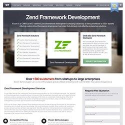 Zend Web Application Development Company