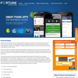 Android Application Development Services Liverpool, UK
