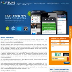 Mobile Application Development Auckland