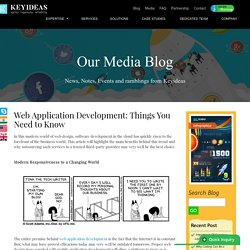 Web Application Development: Things You Need to Know