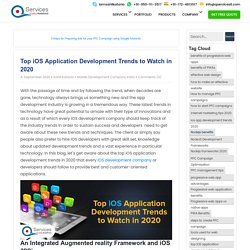 Top iOS Application Development Trends to Watch in 2020