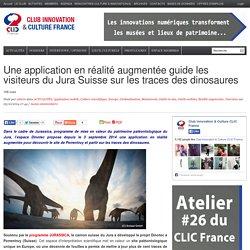 Une application en réalité augmentée guide les visiteurs du Jura Suisse sur les traces des dinosaures