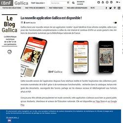 La nouvelle application Gallica est disponible !