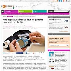 Une application mobile pour les patients souffrant de diabète