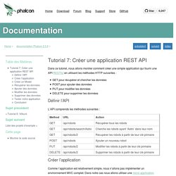 Tutorial 7: Créer une application REST API — documentation Phalcon 2.0.8