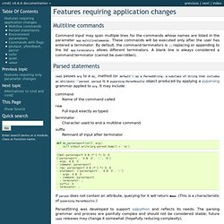 Features requiring application changes — cmd2 v0.6.0 documentation