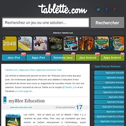 Application Education iPad