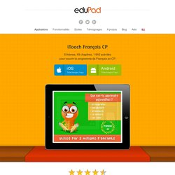 Application Français CP pour iPad, iPhone, Android, Windows 8 - eduPadeduPad