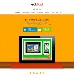 Application Maths CE2 pour iPad, iPhone, Android, Windows 8 - eduPadeduPad