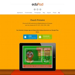 Application Primaire pour iPad, iPhone, Android, Windows 8 - eduPadeduPad