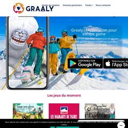Application escape game - Graaly