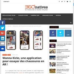 Wanna Kicks, une application pour essayer des chaussures en AR