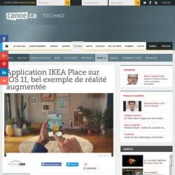Application IKEA Place sur iOS 11, bel exemple de réalité augmentée