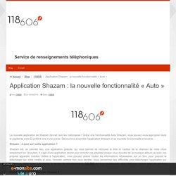Application Shazam : la nouvelle fonctionnalité « Auto »