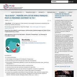 """""""Blue Buddy"""", première application mobile française pour les personnes souffrant de TCA ! / FFAB, 2018"""