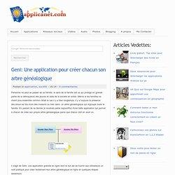 Geni: Une application pour créer chacun son arbre généalogique
