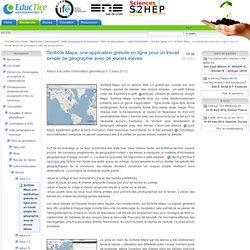 Scribble Maps, une application gratuite en ligne pour un travail simple de géographie avec de jeunes élèves