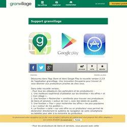 Découvrez dans l'App Store et dans Google Play la nouvelle version 2.2.9 de l'application granvillage. Une innovation Groupama pour trouver et vous ab... - granvillage